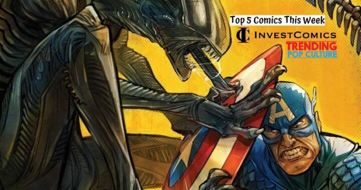 Top 5 Comics 2/17/21
