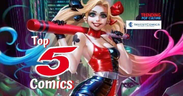Top 5 Comics 3/24/21