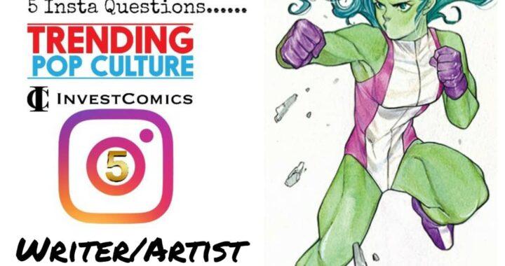 Insta 5 – Rapid Fire Q&A with Writer/Artist Peach Momoko