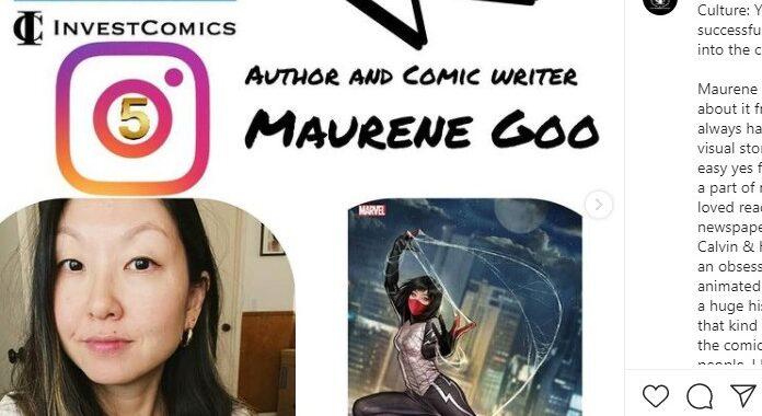 Insta 5 – Rapid Fire Q&A with Author/Comic Book Writer Maurene Goo