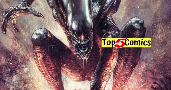 Top 5 Comics This Week 4/21/21