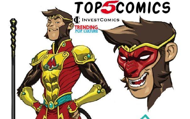 Top 5 Comics This Week 5/12/21