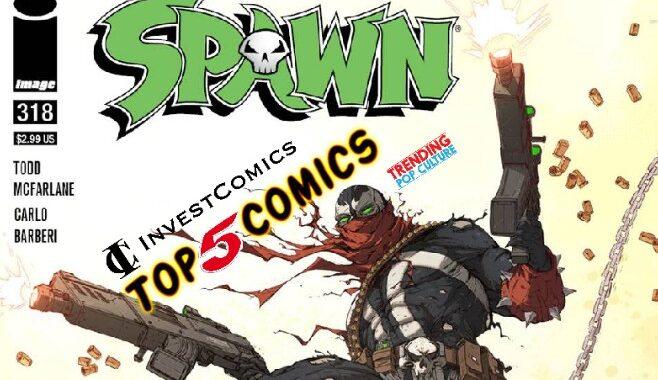 Top 5 Comics This Week 5/26/21