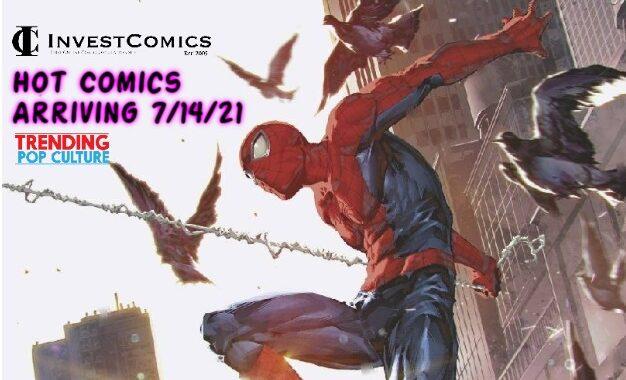 Hot Comics arriving 7/14/21