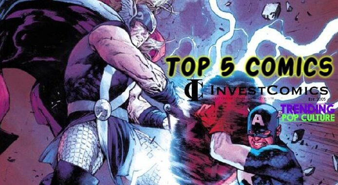 Top 5 Comics 7/14/21