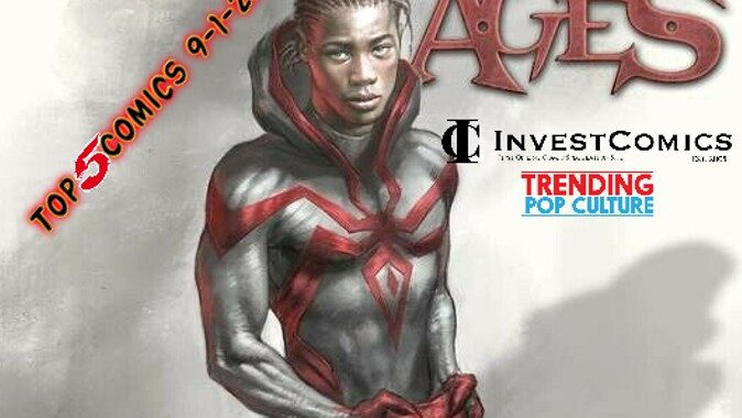 Top 5 Comics This Wednesday 9-1-21