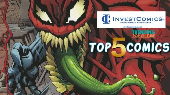 Top 5 Comics This Wednesday 9-8-21