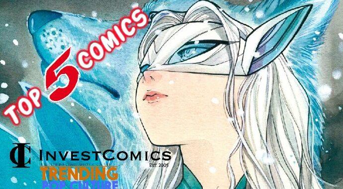 Top 5 Comics This Wednesday 9-22-21