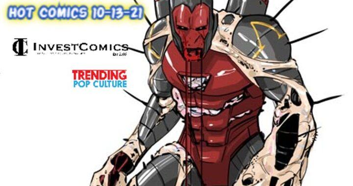 Hot Comics This Wednesday 10-13-21