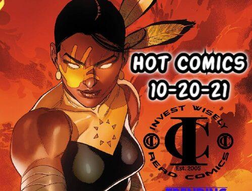 Hot Comics This Wednesday 10-20-21