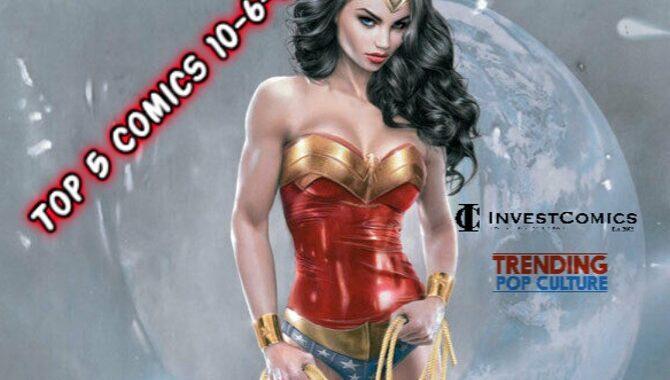 Top 5 Comics This Wednesday 10-6-21